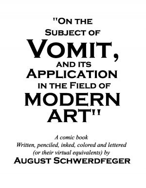 On the Subject of Vomit - title page