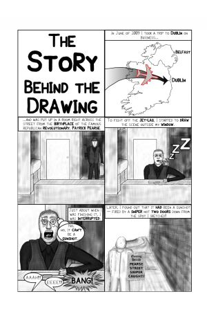 Story behind the drawing